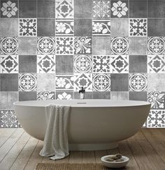 Fliesenaufkleber Luxus Dekoration Wandtattoo von wall-decals auf DaWanda.com