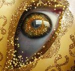 eye```.@@@@......http://www.pinterest.com/marrikanakk/don-t-like-it-spray-it-with-gold/