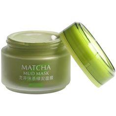 MATCHA Green Tea Face Mask, Organic Jiangsu Green Tea Matcha Facial... ($30) ❤ liked on Polyvore featuring beauty products, skincare, face care, face masks, beauty, clay face mask, anti aging face mask, mud face mask, hydrating face mask and hydrating facial mask
