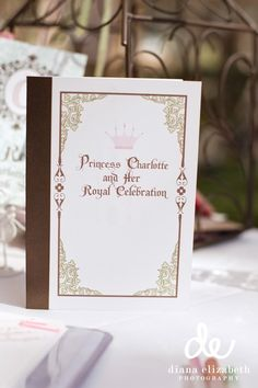 It's a storybook invitation. When you open it it tells a story about the birthday girl or boy.