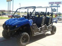 """New 2015 Yamaha Viking VI ATVs For Sale in Texas. 2015 Yamaha Viking VI, The new Viking VI expands the SXS category with true six‑person seating.(817)-695-1600 - This 6-occupant machine achieves driver and passenger comfort with a class leading 115.6"""" wheelbase that smooths the ride and allows for best-in-class interior space. The all-new Viking VI is ready to conquer whatever comes its way with a powerful 686cc, liquid-cooled, fuel injected, SOHC power plant. This engine boasts strong…"""