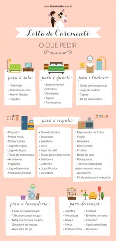 Lista de casamento: o que pedir e dicas para se organizar - Plan Your Wedding, Wedding Tips, Wedding Events, Wedding Guest Book, Wedding Table, Wedding Ceremony, Perfect Wedding, Dream Wedding, Wedding Day