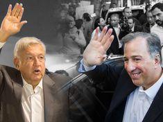El combate entre Meade y Lopez Obrador por las elecciones en México