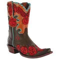 Ariat Women's Quincy Collection Rodeo Rosita Boots I love these boots!!!! #ATBxPBFashionRoundup