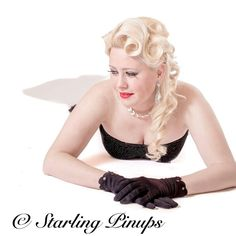 Pin up style photogr