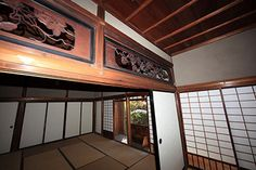 RANMA JAPANESE TRANSOM | In traditional Japanese architecture the area above the transom is ...