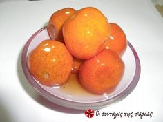 Great recipe for Tangerine spoon sweet. A spoon sweet with an amazing aroma. Recipe by golfo Greek Sweets, Greek Desserts, Greek Recipes, Desert Recipes, Cooking Spoon, Greek Cooking, Cooking Time, Cookie Dough Pie, Fruit Jam