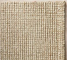 This Chunky Wool Jute Rug Will Bring A Great Texture To The Room Giving Character While Sticking Minimalist Style