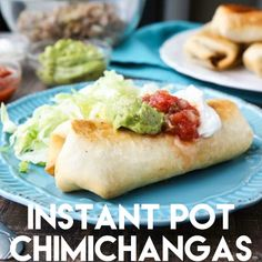 Instant Pot Chimichangas are a favorite family dinner with tender shredded beef, seasoned to perfection, and wrapped in tortillas to fry or bake. Can be gluten-free with corn tortillas and a gluten-free flour Instant Pot Pressure Cooker, Pressure Cooker Recipes, Pressure Cooking, Slow Cooker, Enchiladas, Tostadas, Tacos, Instant Pot Dinner Recipes, Cooking Recipes