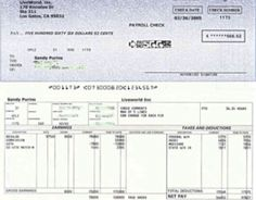 Print Payroll Check Stub  The Payroll Pay Stub Report Can Be Used