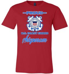 Proud U.S. Coast Guard Stepmom Unisex T-Shirt
