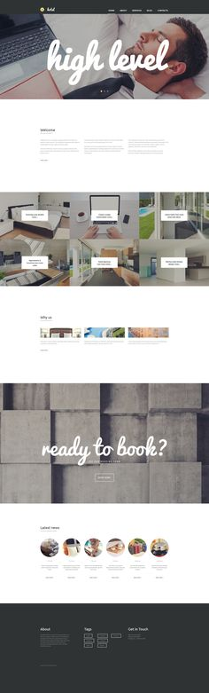 Moto CMS 3 Template , Hotels