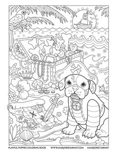 354 best Coloring book dogs images on Pinterest in 2018 | Coloring ...
