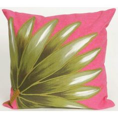 Make sure to see all of the matching designs and sizes!#tropicalpillow #palmpillow