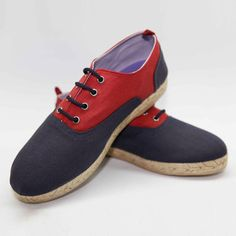 Rioja Espadrilles Men's Navy Red, 99€, now featured on Fab.