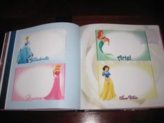 This is what I want to do for Lola- have the book made on a deal and leave space for autograpgs