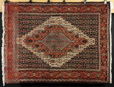 """Antique Mahal carpet, Persian, 18' 7"""" x 11' 8"""""""