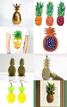 Pineapple Express by Linn Warme on Etsy--Pinned with TreasuryPin.com