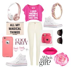 """"""""""" by sofiabart0504 ❤ liked on Polyvore featuring River Island, Converse, Forever 21, Ray-Ban, Suzy Levian, women's clothing, women's fashion, women, female and woman"""