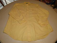 Ralph Lauren Mens  Yarmouth Oxford 17 1/2-33 long sleeve button up Shirt EUC @ #RalphLauren #ButtonFront