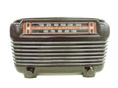 Vintage Philco Bakelite Tabletop Tube Radio