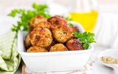 You can now feed your love of meatballs with a recipe that's packed with flavor but has none of the gluten. Check out our gluten-free chicken meatballs.