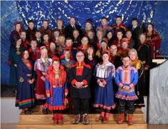 People From Norway | Sametinget president Egil Olli (front row, second from left) leads the ...