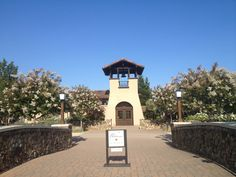 Entrance to St. Francis Winery, Sonoma