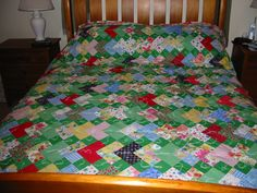 deck of cards quilt.  It is harder than it looks.  I like easier than it looks quilts.