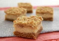 If you love lemons, then you're going to LOVE these Creamy Lemon Crumble Bars with an oaty base, creamy lemon filling and crunchy crumble on top!