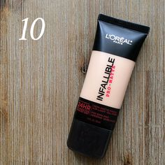 Best in Beauty   March   L'Oreal Infallible Pro-Matte 24 HR Foundation   105…
