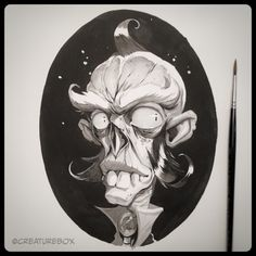 CreatureBox • Inktober Day 18: Sigmund had long outlived all of...