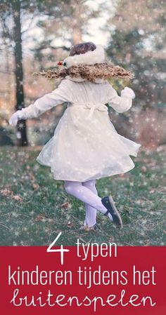 Verschillende typen kinderen tijdens het buitenspelen. Outdoor Play, Outdoor Decor, Your Child, Children, Kids, Fun, Outdoors, School, Young Children
