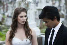 Xenia Goodwin as Tara and Jordan Rodrigues as Christian in the Werner Film Production Dance Academy Series 3.