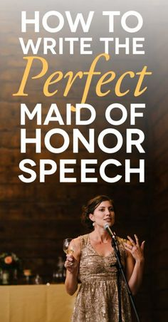 maid of honor delivering a speech with how to write a maid of honor speech text … Trauzeugin hält eine Matron Of Honor Speech, Matron Of Honour, Before Wedding, Wedding Tips, Wedding Photos, Party Photos, Trendy Wedding, Wedding Venues, Wedding Qoutes