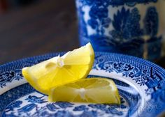 Lemons on Blue x 7 Fine Art Photography Print by Jennifer Aitchison. via Etsy gooseberries tim walker photography Im. Love Blue, Blue Yellow, Blue And White, Yellow Photography, Fine Art Photography, White Dishes, Blue Dishes, Willow Pattern, My Favorite Color