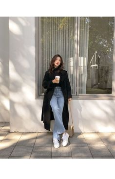 Korean Winter Fashion Ideas You Should Try Now . - DressesKorean winter fashion ideas that you should try now . # Try # the # ideas # now 59 Korean Outfits You Will Korean Girl Fashion, Korean Fashion Trends, Ulzzang Fashion, Korea Fashion, Look Fashion, Korea Winter Fashion, Fashion Men, Korean Street Fashion Summer, Korea Street Style