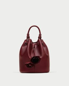 ZARA - WOMAN - FLORAL BUCKET BAG