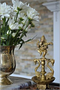 Indian Home D Cor Brass Collectibles Ganesha