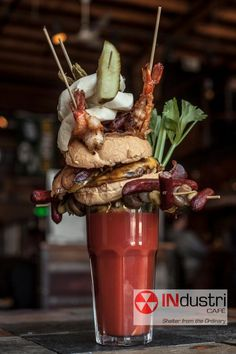 In Milwaukee, Wisconsin  [best bloody mary EVER!!!]