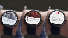 El nuevo reloj de Google: Android Wear