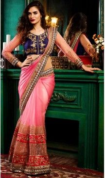 Salmon Color Georgette Traditional Ethnic Wear Sarees | FH493975710 #ootd #ootn #giftforher #giftideas #asianWear #Asianwedding #asianattire #bollywoodjewellery #accessories #asianaccessories #saree #sari #indianSaree #traditionalsaree #traditionalsari #indianjewellery #necklaceSets #Bangles #asianWear #Asianwedding # #wedding #asianattire #bollywoodjewellery #accessories #asianaccessories #heenastyle #georgette #blouse #heenastyle @heenastyle