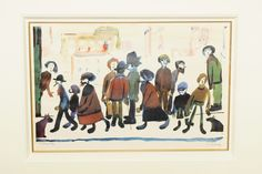 Laurence Stephen Lowry, R.A (1887-1976)