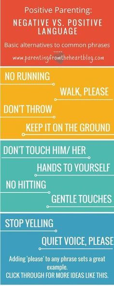 Negative language impacts children. Find more effective positive parenting alternatives to these phrases. These positive parenting strategies are perfect for parenting toddlers and preschoolers. Authoritarian parenting, attachment parenting, positive disc #ParentingBaby