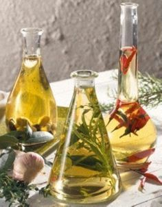Knoblauch-Olivenöl