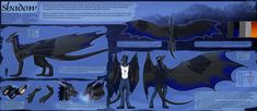 Ref Sheet Comish - Shadow by TwilightSaint on DeviantArt