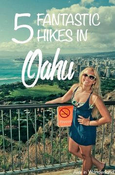 OAHU HAWAII My enthusiasm for hiking increased tenfold after a trip to Oahu where these 5 easy-to-moderate trails with incredible vistas won me over. Hawaii 2017, Hawaii Vacation, Oahu Hawaii, Vacation Ideas, Voyage Hawaii, Hawaii Travel Guide, Travel Tips, Hawaii Adventures, Moving To Hawaii