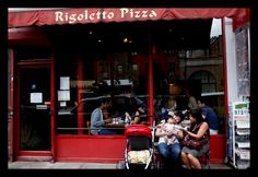 rigoletto pizza, best in nyc!