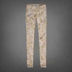Floral Shine Jeggings | Abercrombie.com | Check out our Pin To Win Challenge at http://on.fb.me/UfLuQd
