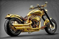 Goldfinger: The most expensive motorcycle in the world